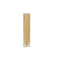 Flat bamboo BBQ skewer  9mm H250mm