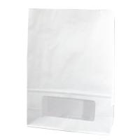 Saco Bloomer branca com janela 0ml   H220mm