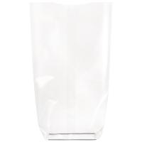Saco transparente com fundo de papelão 0ml   H260mm