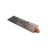 Sac sandwich papier kraft brun  100x40mm H340mm