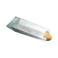 Bolsa papel branca sanduíche  100x40mm H340mm