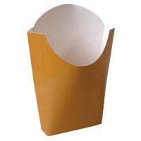 Bolsinha kraft Maxi para batata frita. 500ml 55x120mm H152mm