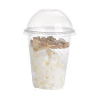 Clear PET plastic cup 250ml Ø77mm  H106mm
