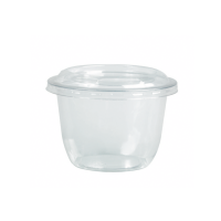 Copo PET transparente 300ml Ø95mm  H65mm