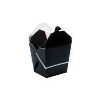 Caixa preta com alças 950ml 100x100mm H110mm