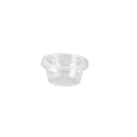 Pote Pet 60ml Ø62mm  H32mm