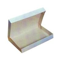 Caixa lanche de papelão liso  320x420mm H60mm