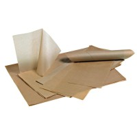 Set de papel Kraft antigordura  500x320mm