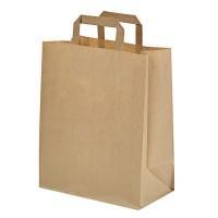 Mini saco castanho 0ml   H215mm