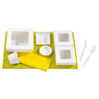 Suporte de cartao para caixas Kray  440x270mm H25mm