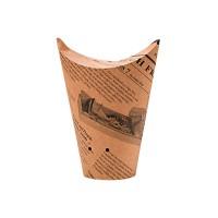 Mini embalagem para burrito ou wrap 480ml Ø105mm  H123mm