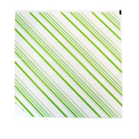 Folha de papel com listras verdes  310x320mm