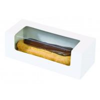 Caixa de papelâo com visor para bolos/macarrones 0ml   H50mm