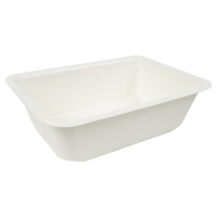 Bandeja de celulose selável 950ml 190x137mm H55mm