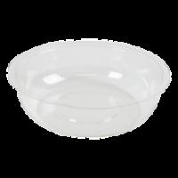 Insert plastique PET transparent pour pot/coupe  Ø93mm  H25,5mm