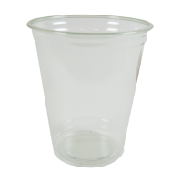 Clear RPET plastic cup 420ml Ø92mm  H110mm