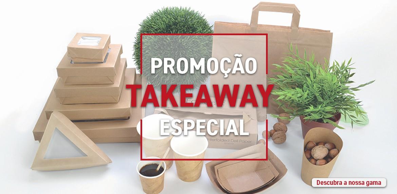 Promoção especial para as vendas de take-away